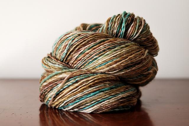 Handspun Yarn ~ by PurlVerde ~ Textiles Singles Style ~ via Ravelry