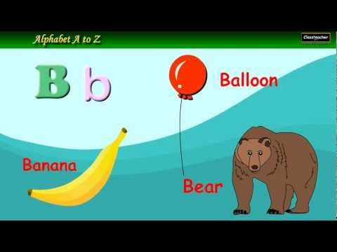 ABC, Alphabet Writing, Letter Sounds, Learn English Phonics, Animated Video For Children - YouTube