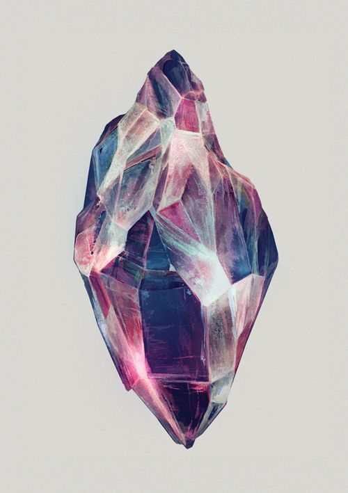 Healing Crystals on the Behance Network