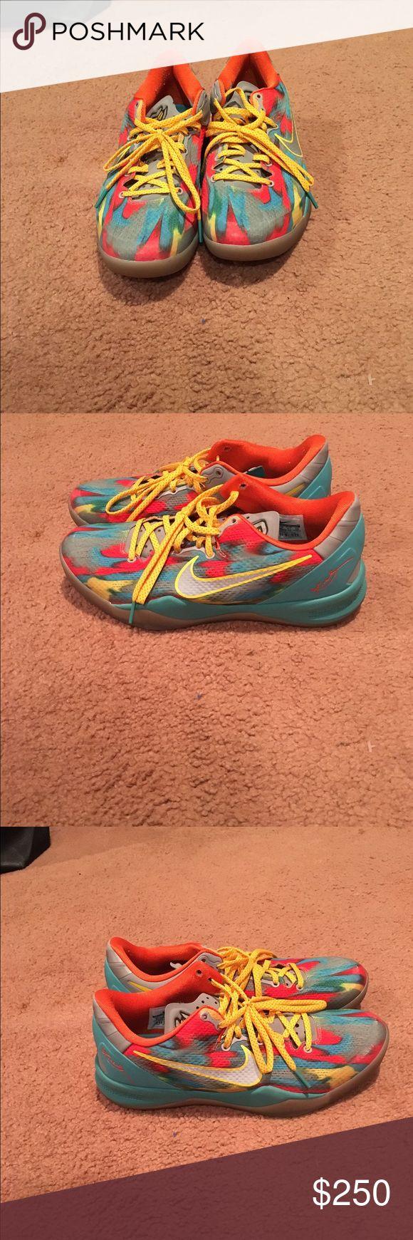 Buy Cheap Nike Kobe 8 System MC Mambacurial Cheap sale Yellow Bl