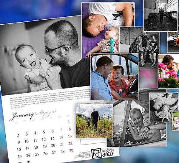 Kalendarz Fundacji Józef 2017 - zestawienie