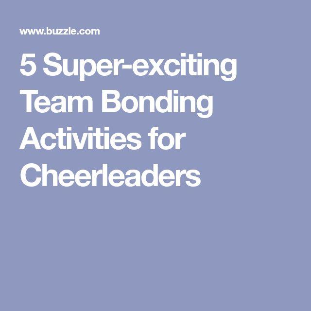 5 Super-exciting Team Bonding Activities for Cheerleaders