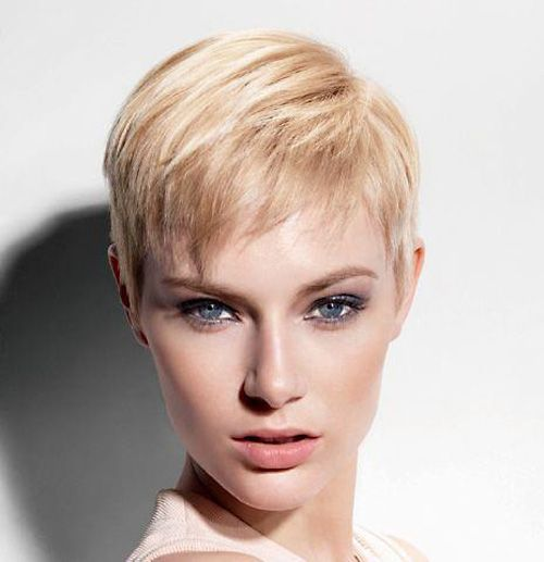 Classic cute short pixie haircut----really wish I had the guts to cut my hair this short! But my face is too big for this style anyways.
