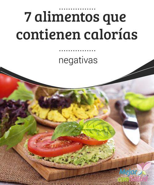 7 alimentos que contienen calorías negativas  A la hora de intentar bajar de peso se ha de combinar ejercicio con una alimentación sana.