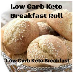 Keto BrekFast Roll Low Carb Keto Breakfast Roll has a great bread-like texture since it is made with the fathead dough. Just in minutes make the perfect sandwich rolls and dinner rolls.  In my childhood, I liked biscuits, bolillos, tortillas, crackers, cornbread, muffins, sourdough bread and dinner rolls. Now it is not in my favorites after-all it was BREAD.   #KetoBreakfast #KetoBreakfastRoll #LowCarbBreakfast