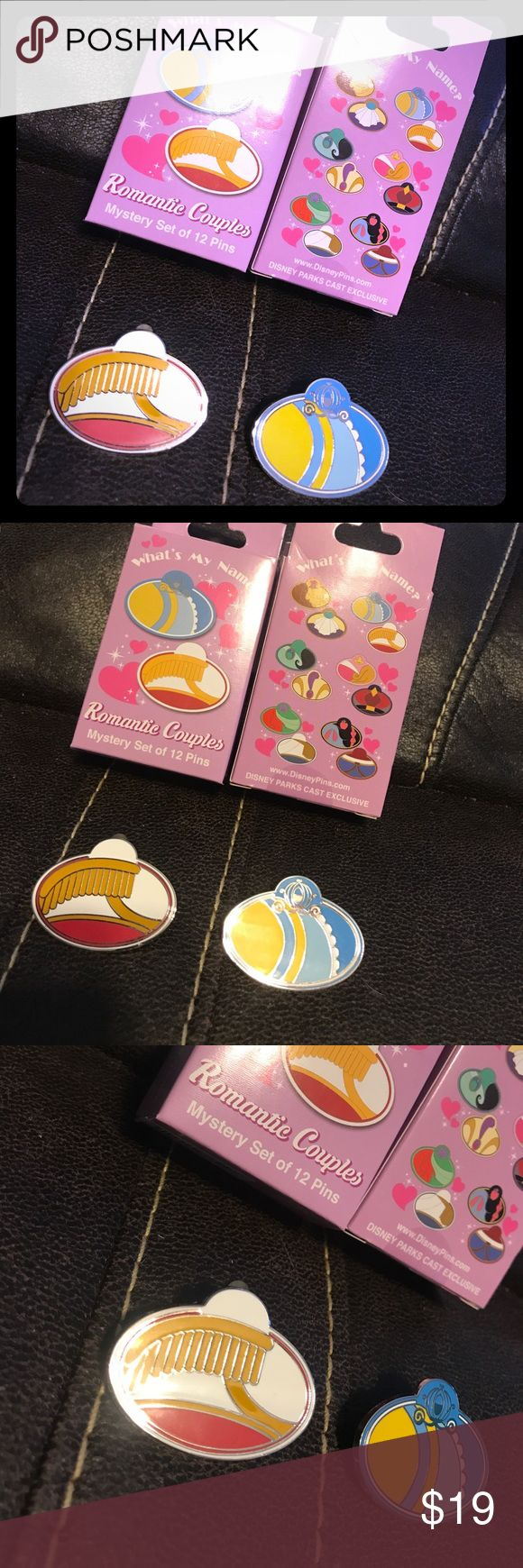 Disney cast member exclusive pins! Disney cast member exclusive pins! Cinderella and Prince Charming👑👠 set!! You will receive both pins but no box 📦. ( will not separate ) Disney Other