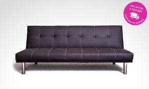 Groupon - Desde $ 3949 en vez de $5000 por futón cama ecocuero con delivery o retiro en sucursal. Pagá en cuotas sin interés en .. Precio de la oferta Groupon: $3.949
