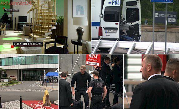 """Hotel jak twierdza, snajperzy i Bestia. Bo Trump jest """"na celowniku wszystkich terrorystów"""""""