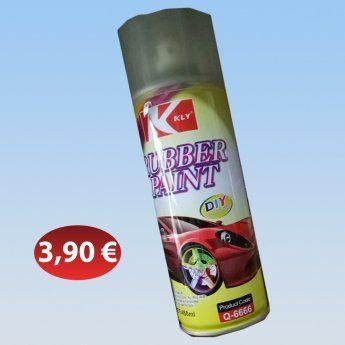 Σπρει βαψίματος καουτσούκ 3,90 €-Ευρω