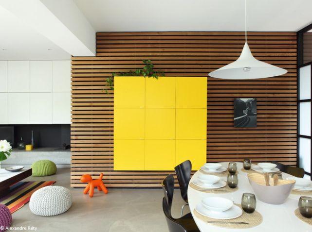 Tendance : le bois habille nos murs ( Ambiance contemporaine bardage design red cedar brut)