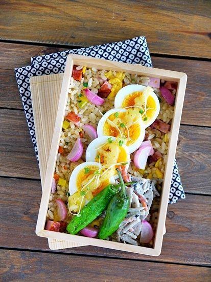 Duck lunch Wappa bento