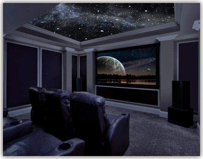 Home theatre living rooms pinterest look at columns for Small room movie theater
