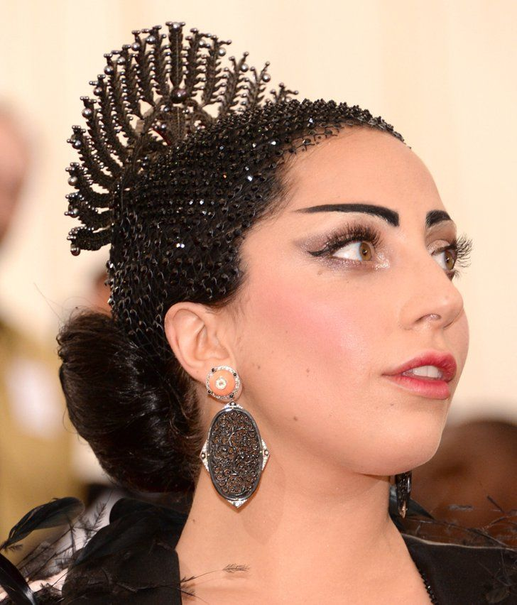 Pin for Later: Zoom In on Every Gorgeous Hair Accessory From the Met Gala Lady Gaga
