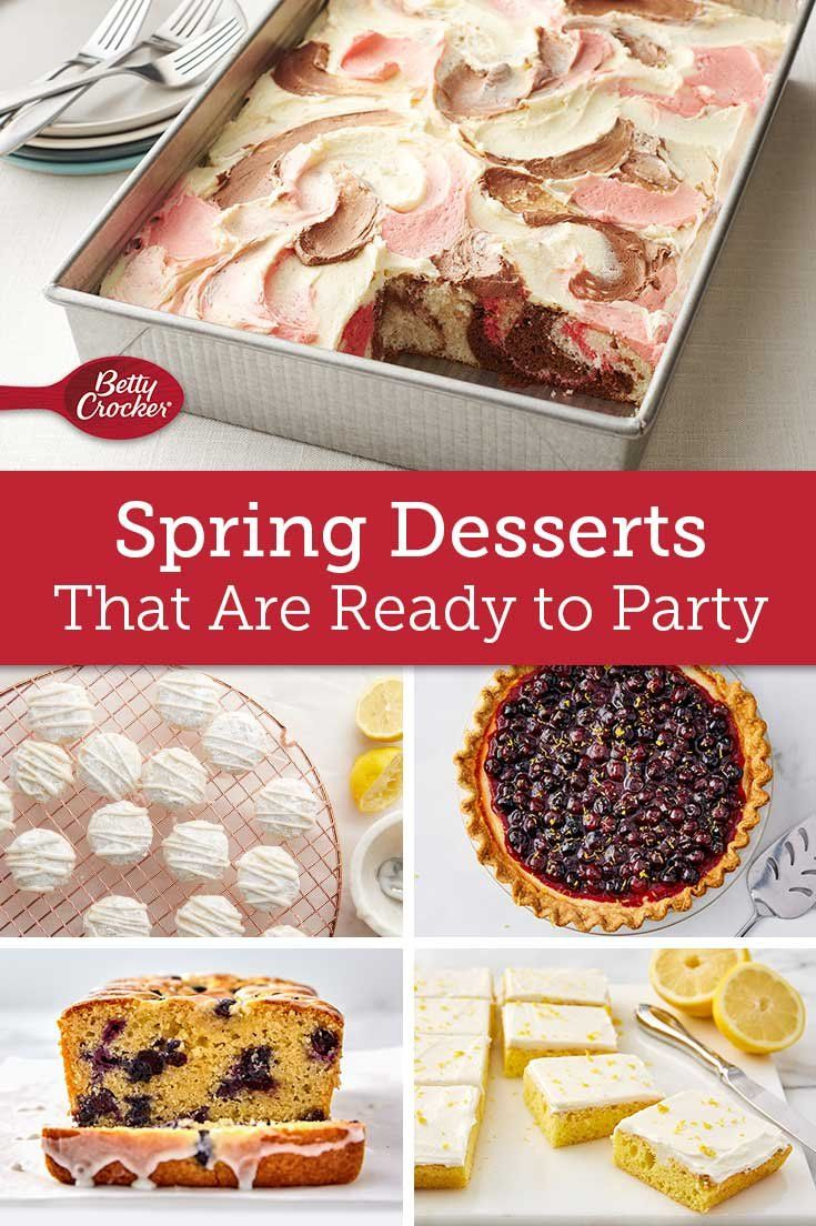 Spring Desserts That Are Ready To Party In 2020 Spring Desserts Spring Time Desserts Desserts