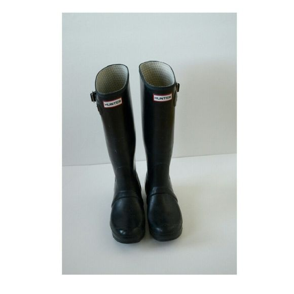 Festival PickHunter Rain Boots Women's original tall rain boots condition: gently used Hunter Boots Shoes Winter & Rain Boots