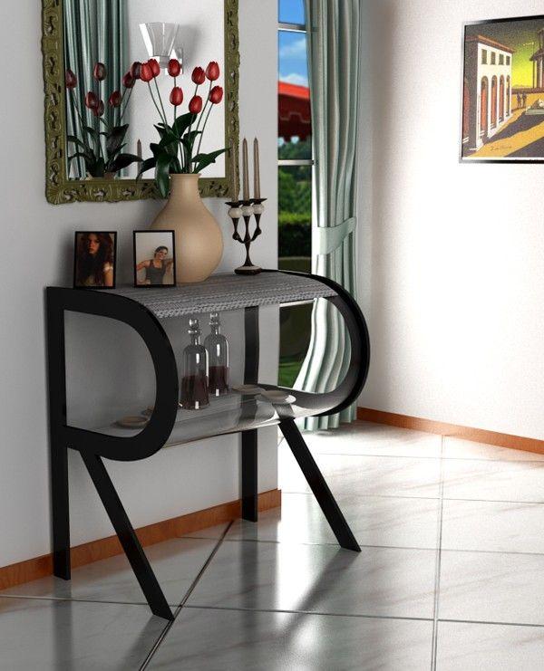 Claudio Scotto: La Funcionalidad De Las Letras. Furniture DesignBuilding ...