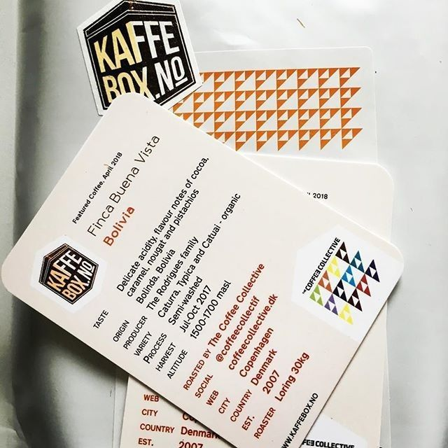 #KaffeBox member post from # @atleb  Bring on Easter   #kaffebox is here great Danes of @coffeecollectif still got it  #KaffeBox #speciatlycoffee #spesialkaffe #thirdwavecoffee #coffee #kaffe #coffeesubscription #coffeetime #coffeelover #kaffepause #kaffeeliebe #pouroverbrew  #coffee_inst #butfirstcoffee #coffeeaddict #manualbrew #manualbrewonly #coffeegram  #blackcoffee #coffeetime #coffeelife  #coffeeshots #coffeeaddict