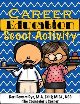 Career Education/Community Helper Scoot Activity by The Counselor's Corner | Teachers Pay Teachers (scheduled via http://www.tailwindapp.com?utm_source=pinterest&utm_medium=twpin&utm_content=post30130678&utm_campaign=scheduler_attribution)