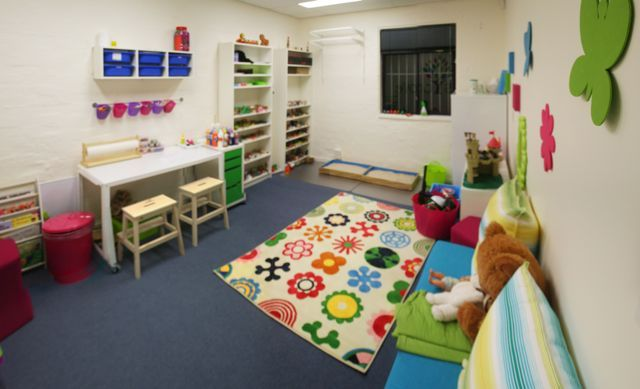 Play therapy room ideas