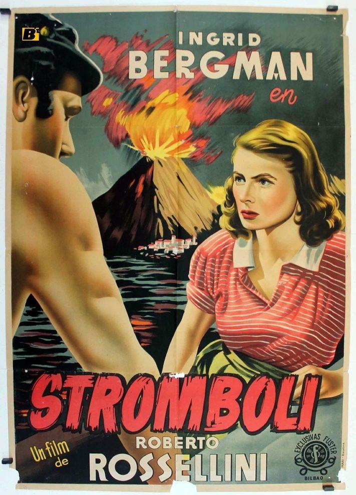 """""""Stromboli, terra di Dio"""" (1950). Country: Italy. Director: Roberto Rossellini."""