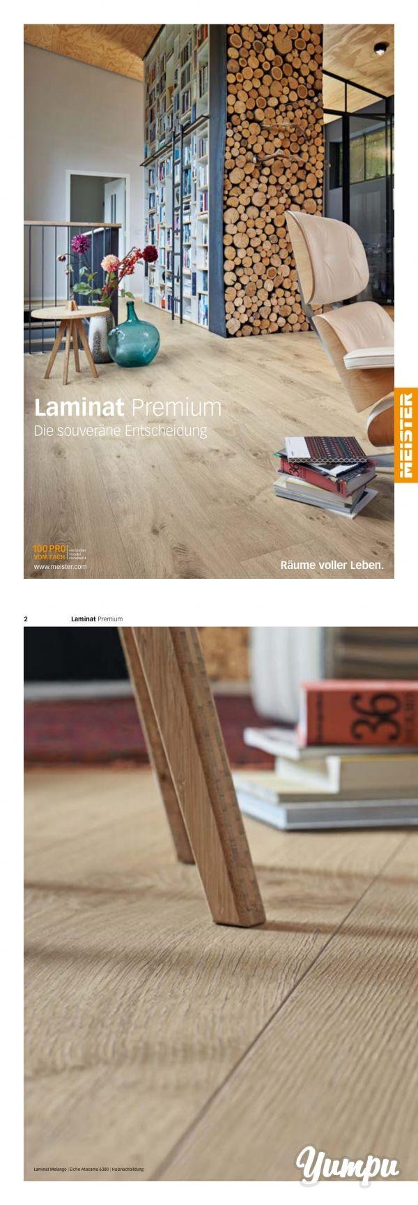 Meister Laminatböden - In diesem Prospekt erfahren Sie alles rund um die neuen Premiun Laminatböden der Firma MeisterWerke.