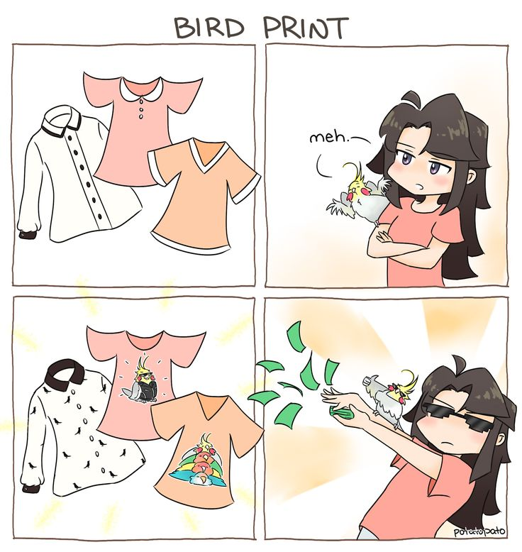 Or anything with birds on it for that matter