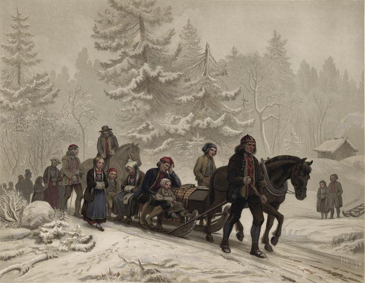 Knud Bergslien - Et Ligfölge. jpg (5751×4459)
