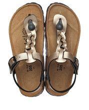 Bronzen/Gouden Betula kinderschoenen Selina sandalen