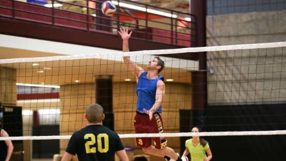 Over 10,000 CMU students, faculty and staff participate in intramural sports each year.