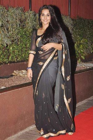 Black Color Net Saree Cele4010. Sale : $151.00