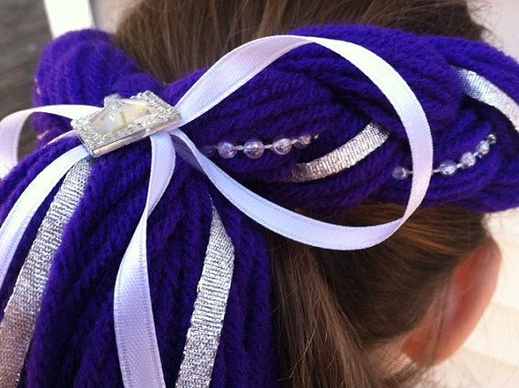 My Little Pony Costume Hair Rarity Costume by PoshPrincessBraids