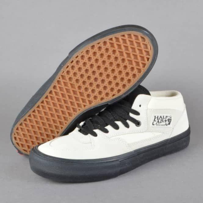 Half Cab Pro Skate Shoes - White/Black