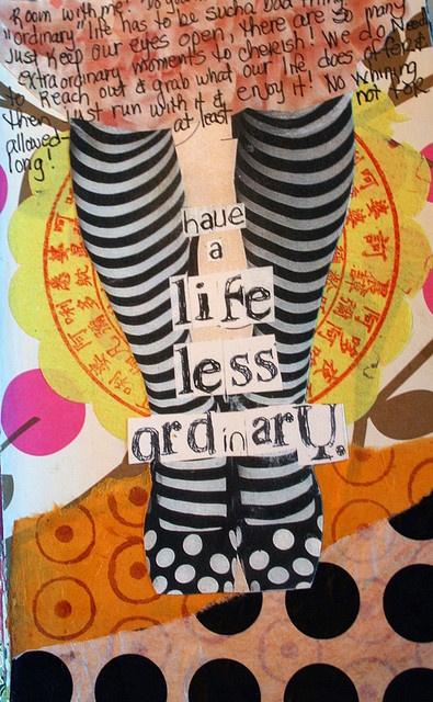 By paulateachstm: Life Happen, Journals Inspiration, Moleskine 129, Art Journals, Art Collage, Altered Art, Mixed Media Art, Mixed Media Collage, Journals Art