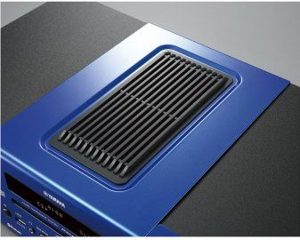Yamaha MCR-B043D Desktop Micro Hi-Fi System in Dark Blue