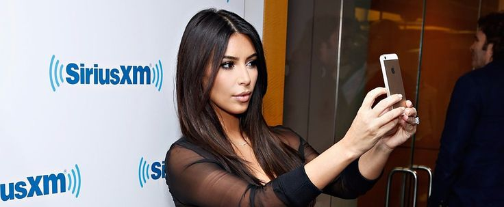 Kim Kardashian Proves Once Again That She Is Indeed the Selfie Queen