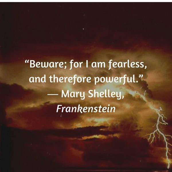 mary shelleys frankenstein 3 essay Victor frankenstein's creation, in mary shelley's frankenstein,  study guide has  everything you need to ace quizzes, tests, and essays.