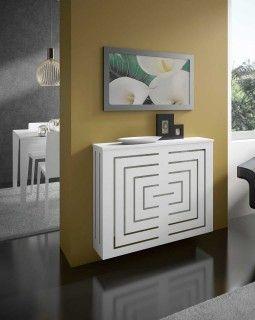 Cubreradiador de diseño Midi Su simetría aporta una exquisita elegancia, dejando fluir con armonías el calos de su entorno.