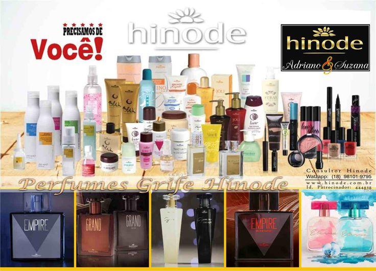 MUITO FELIZ COM HINODE  Vender Hinode é isso gente! Nunca ficamos com produtos disponível... FATO! Quando saímos para oferecer os produtos em duas casas  o que acontece é que vendemos nas duas casas e dificilmente já não fica uma pré-venda já para os próximos pedidos.  Entregamos em qualquer lugar do Brasil, Peça o seu! Loja Virtual Oficial Hinode: www.hinodeonline.net/444838 ou diretamente comigo.  QUER SER UM(A) CONSULTOR(A) COMO EU? CADASTRE-SE http://hinode.com.br/444838 ID 444838