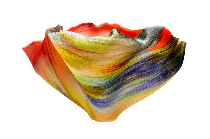 Потрясающие вазы Toots Zynsky из тончайших стеклянных нитей - Ярмарка Мастеров - ручная работа, handmade