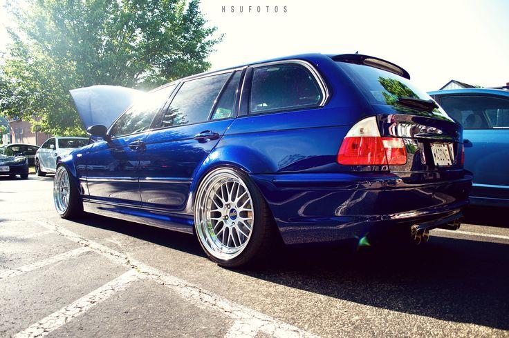 BMW E46ツーリング | by hsufotos