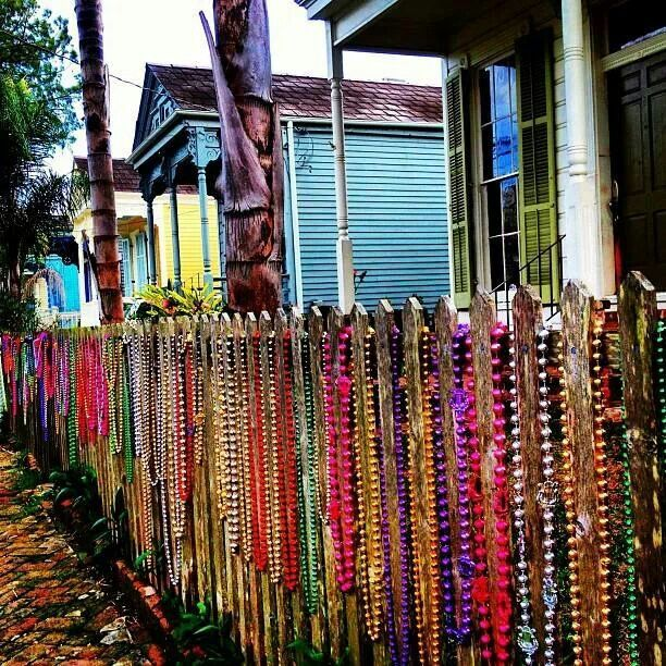 New Orleans style fence