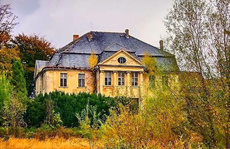 Pałac w Grudyni Małej,rezydencja w stylu neorenesansowym