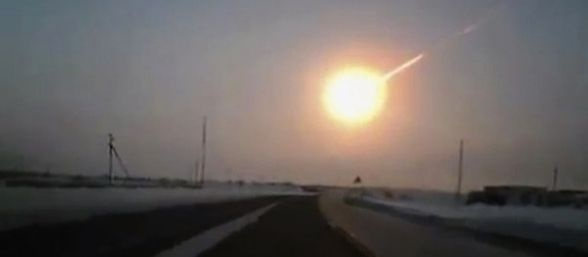 Impacto de meteorito (video)
