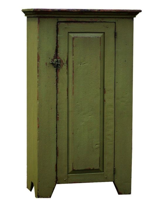 Painted furniture rustic farmhouse cabinet primitive distressed chimney  cupboard country kitchen - 164 Best Colonial And Primitive Chimney/Jelly Cupboards Images On