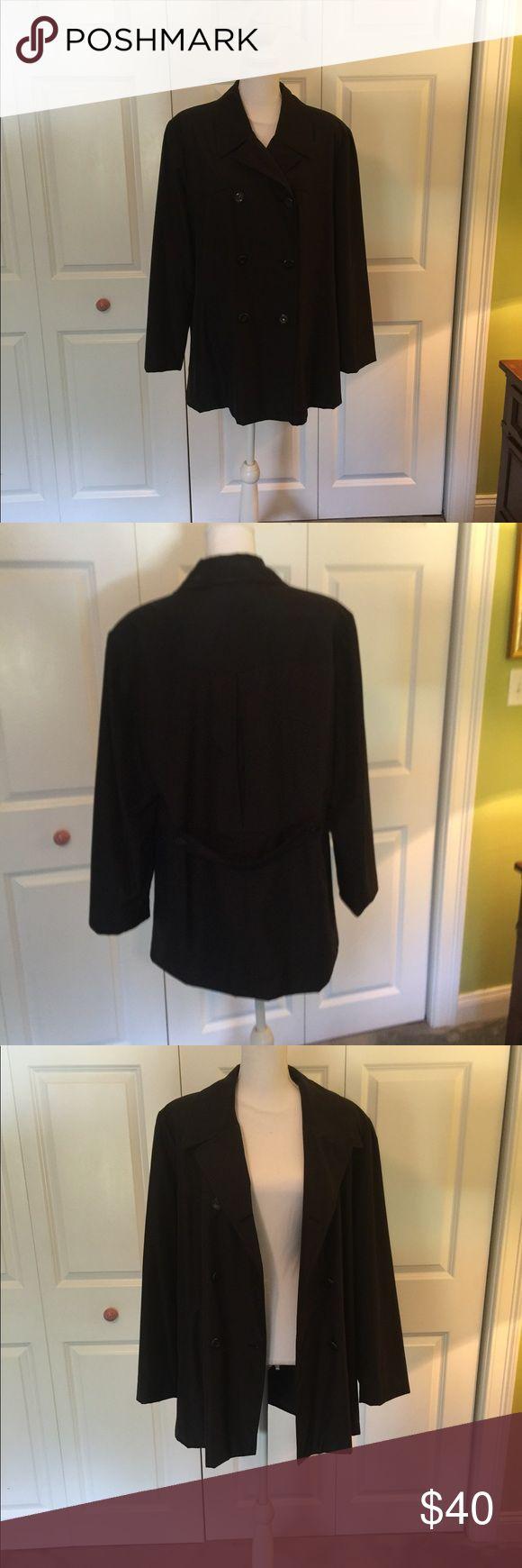 Nylon Trench Coat Lined Beautiful Condition Rain Coat Fleet Street Jackets & Coats Trench Coats