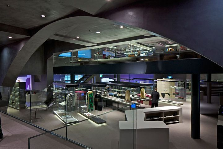 Excelsior Milano concept store by Jean Nouvel, Milan