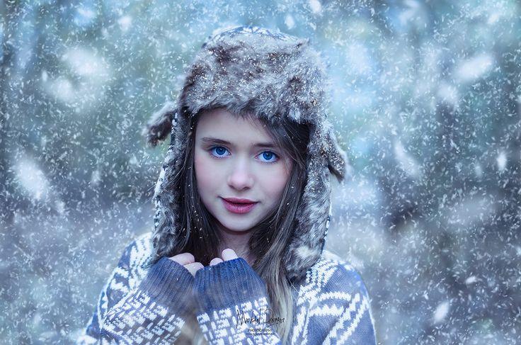 Photographie Fine Art Portrait -Snow by Mickaël DEMONT on 500px Béthune - Valenciennes - Divion / FRANCE