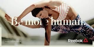 Image result for reebok be more human campaign 2016