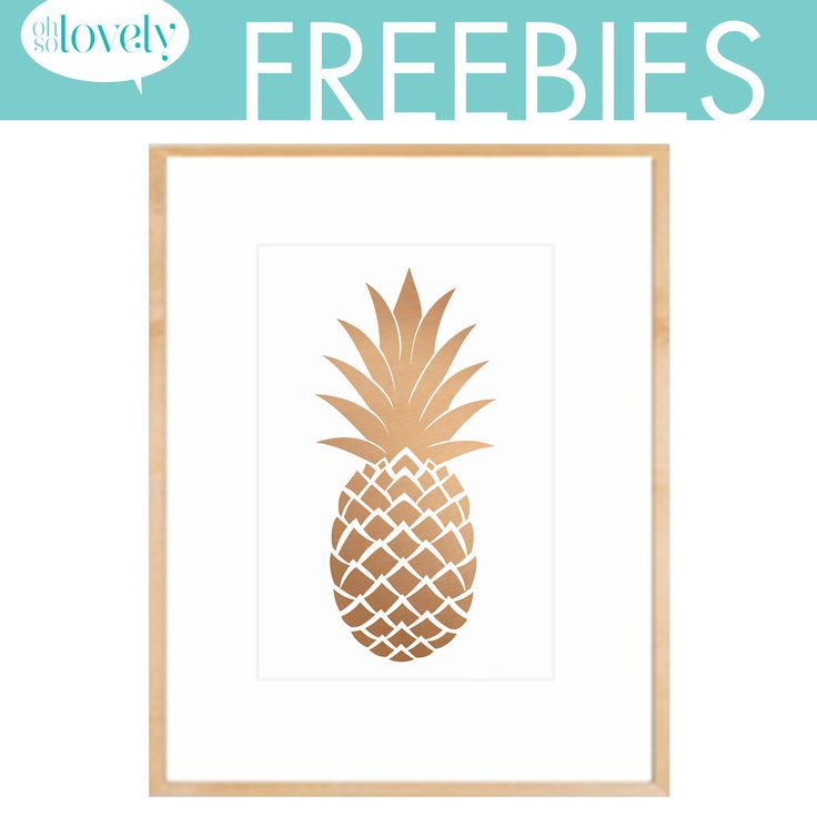 Lots of great printables for wall galleries and desktop wallpapers, too. Oh So Lovely: FREEBIES 1