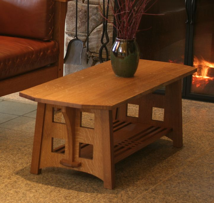 Coffee Table Jr Furniture: Limbert Style Coffee Table.